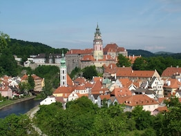 Private relaxed walking tour of Cesky Krumlov