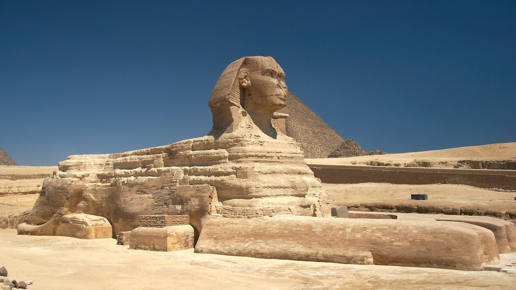 Show item 7 of 7. Great Sphinx of Giza in Egypt