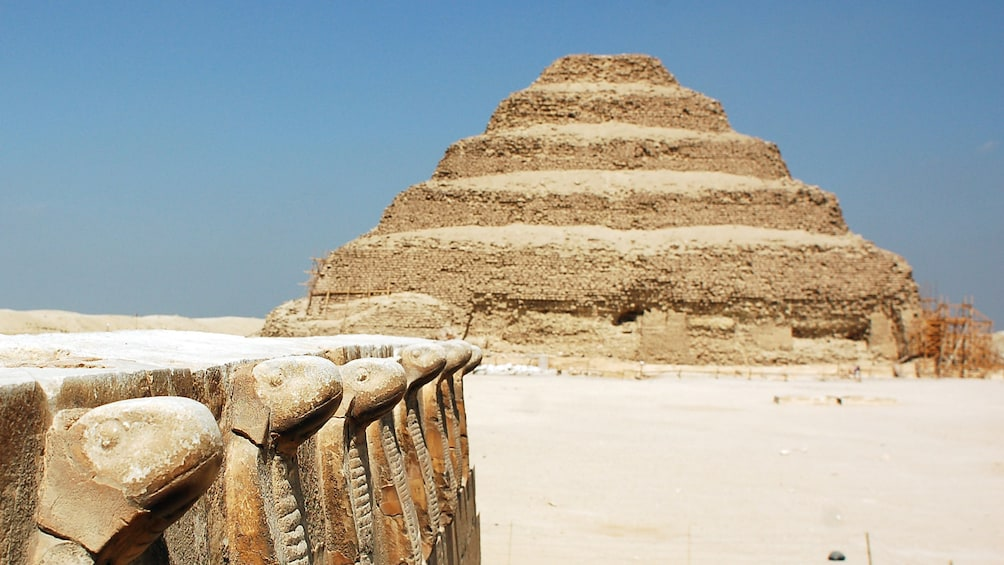 Show item 2 of 7. View of the Saqqara in Egypt