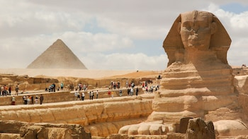 Pyramids, Sphinx & Sakkara Half-Day Private Tour