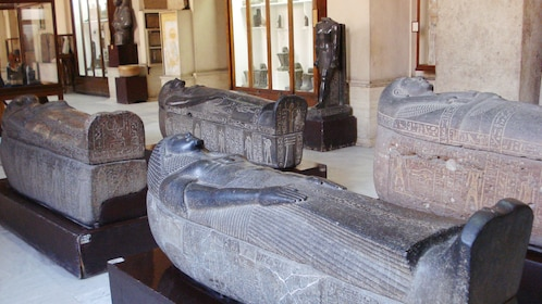 Ancient artifacts in Egypt