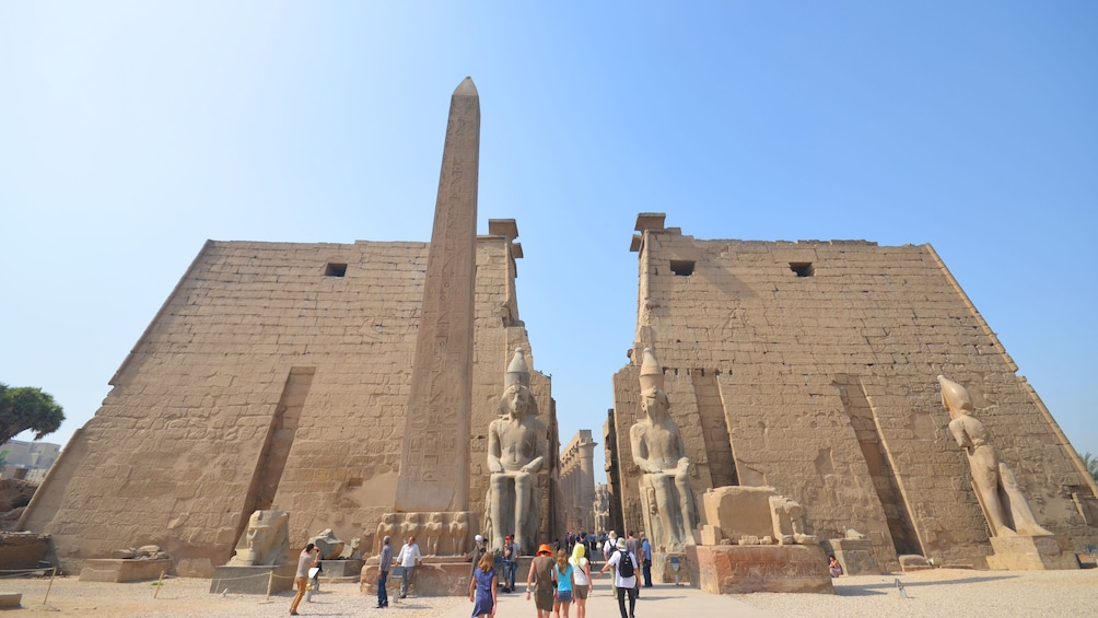 Show item 1 of 10. Front view of the Luxor museum in Luxor