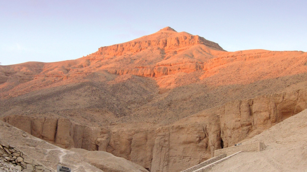 Show item 5 of 10. Gorgeous view of Luxor at sunset