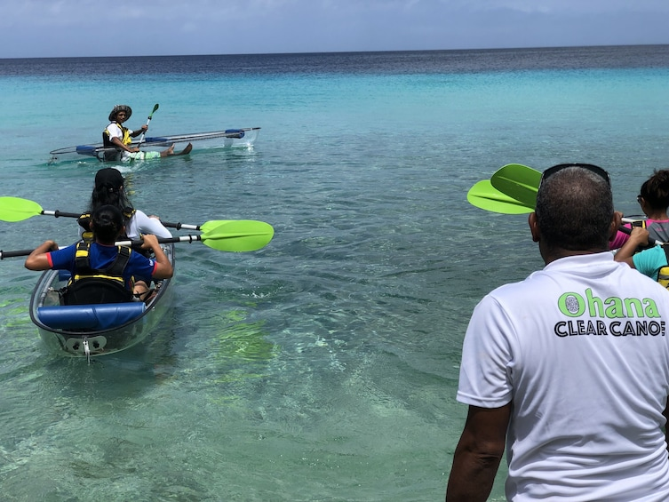 Canoe & Pull Snorkel Tour