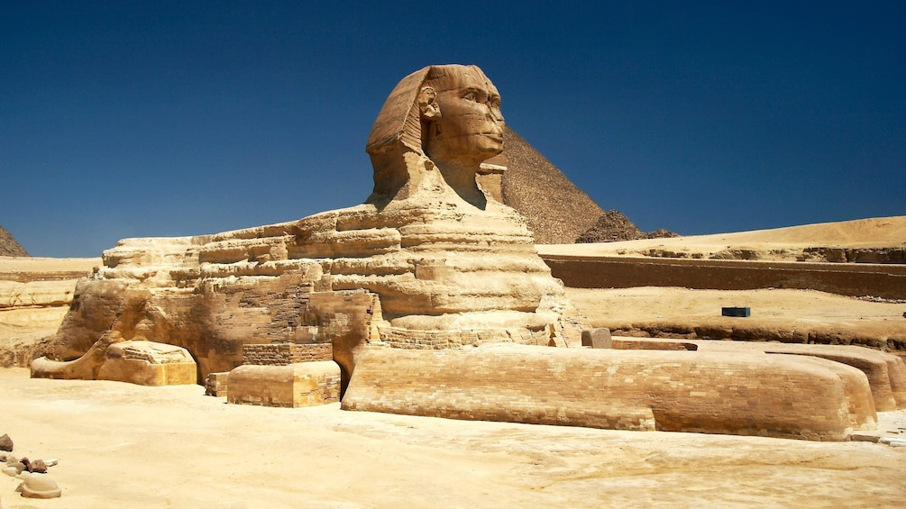 Show item 2 of 9. Sphinx in Cairo