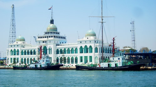 Port Said in Egypt during the day