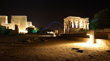 Philae Temple Sound & Light Show with Private Transfers