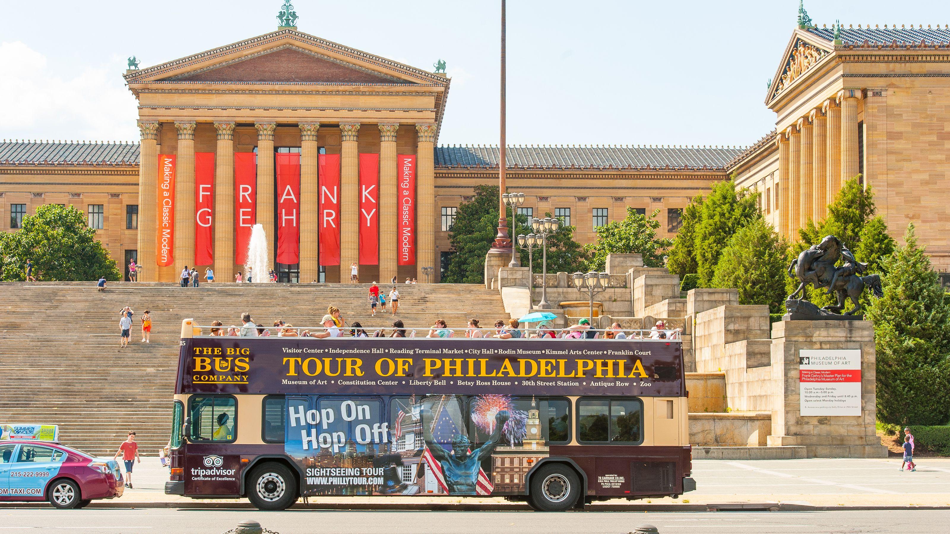 Philadelphia Hop-On Hop-Off Bus Tour