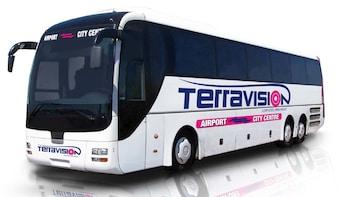 Shared Coach - Fiumicino Airport (FCO) to Termini Train Station