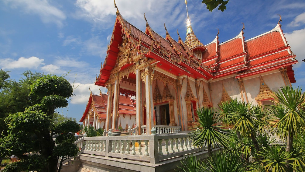 Exterior view of a temple in Phuket