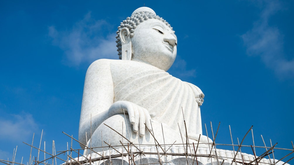 Show item 5 of 5. Close view of the Largest Buddha statue in Phuket
