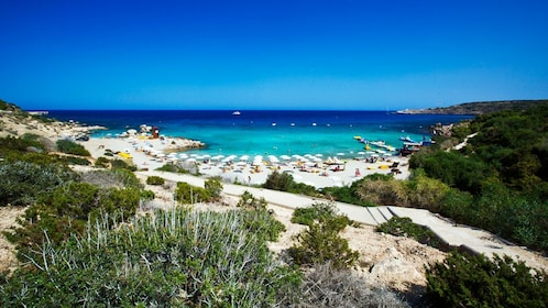 beach view in cyprus