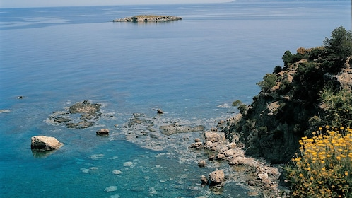 Coast view in Cyprus