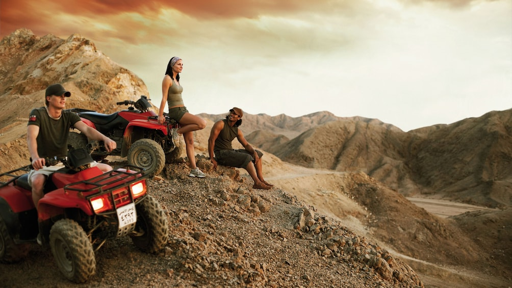 people with ATVs in egypt