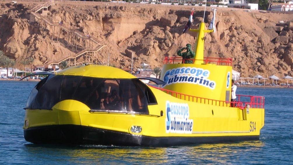 submarine in egypt