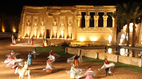 people dancing in egypt