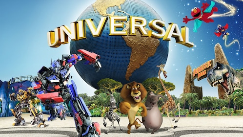 Poster for universal studio in singapore