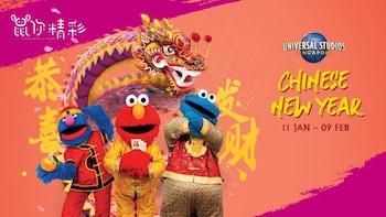 Eintritt zu den Universal Studios SingaporeTM