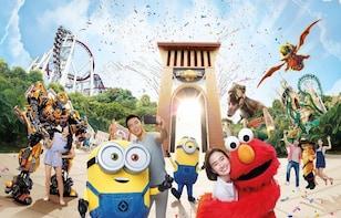Tageskarte der Universal Studios Singapore