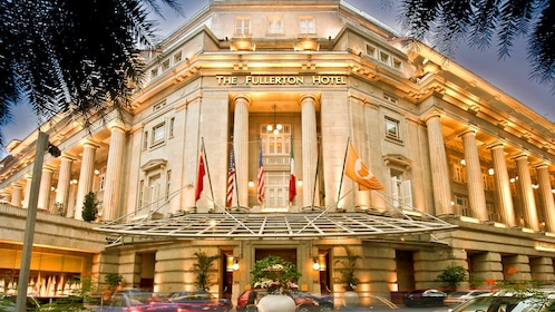 Exterior of the Fullerton Hotel