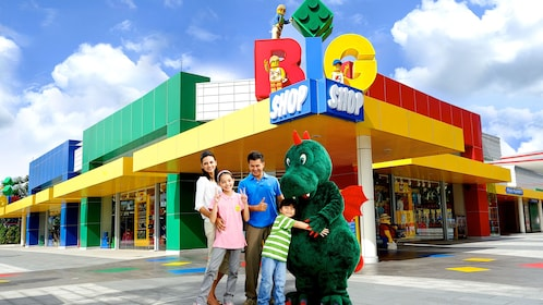 Lego shop at the Legoland in Singapore
