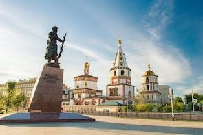 ITALIAN Explore Irkutsk on a Private Walk and Talk Tour