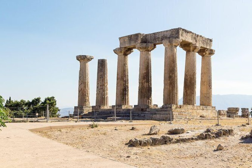 Show item 1 of 4. Corinth half-day Private Tour from Athens