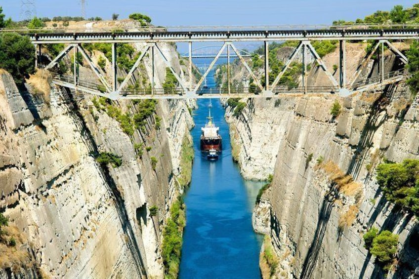 Show item 4 of 4. Corinth Canal