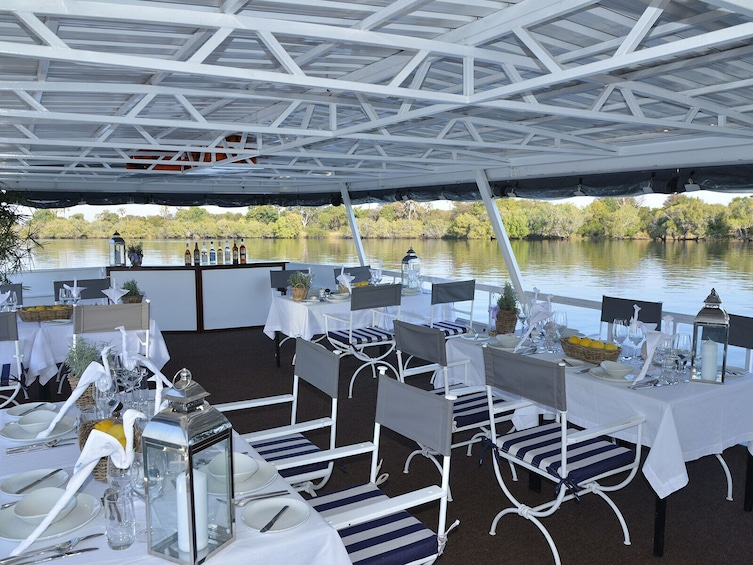 Show item 3 of 4. Dinner Cruise on the Zambezi River