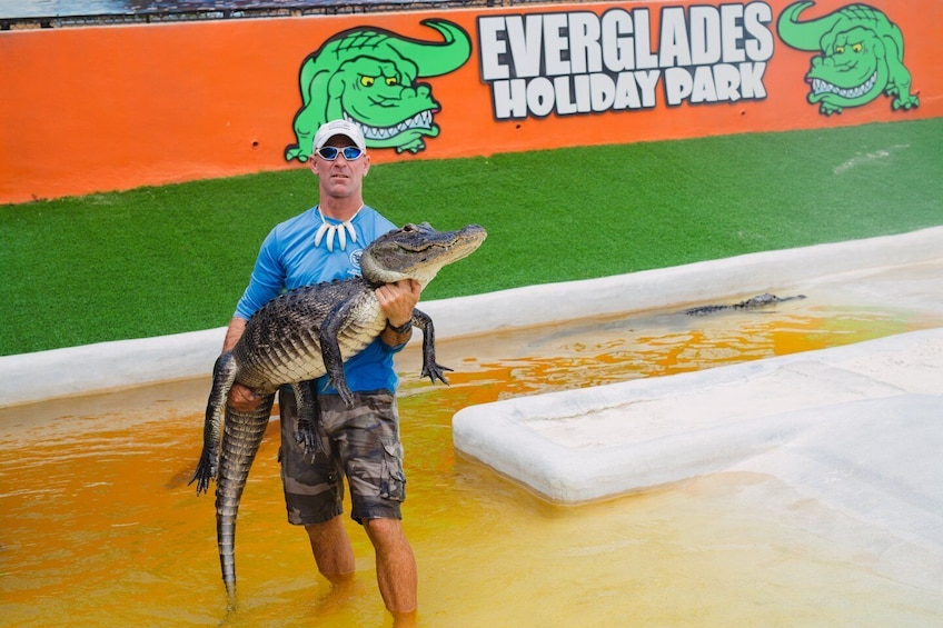 Show item 2 of 5. Everglades Holiday Park Airboat Tours and Rides