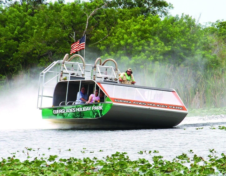 Show item 1 of 5. Everglades Holiday Park Airboat Tours and Rides