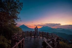 Altamira + Hobbitenango Nature parks near Antigua Guatemala
