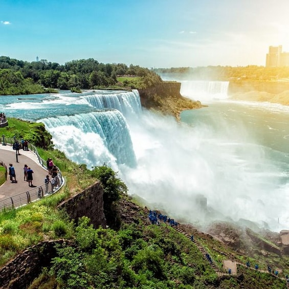Show item 2 of 4. 4-Day DC+NiagaraFalls Tour (NYC departure) DN4 (winter)