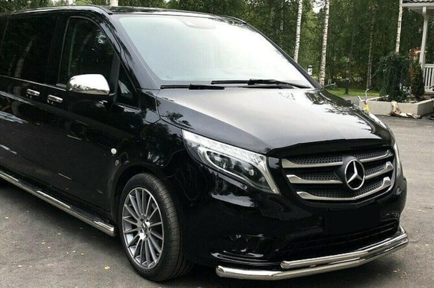 Show item 1 of 9. Chambery Airport Transfers : Chambery Airport CMF to Courchevel in Luxury Van
