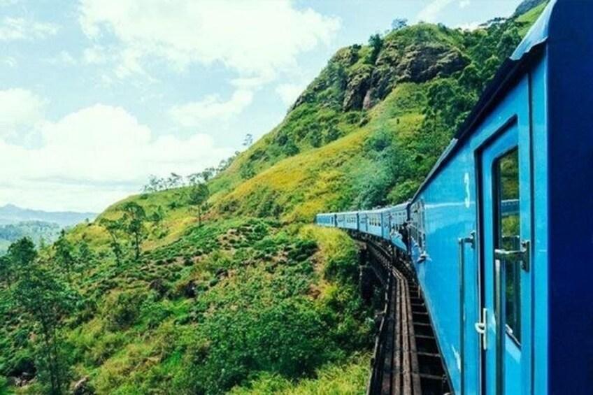 Badulla - Kandy train ride