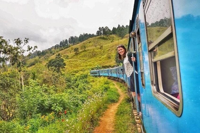 Kandy - Ella train ride
