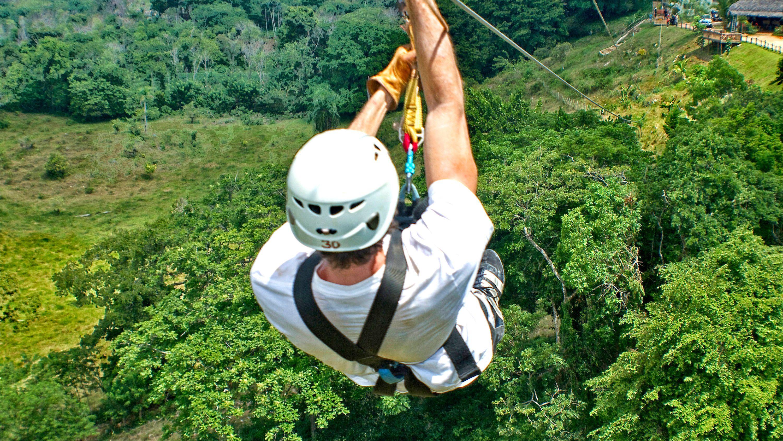Zip-Line at Monkey Jungle