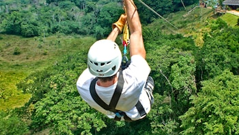 Zipline at Monkey Jungle