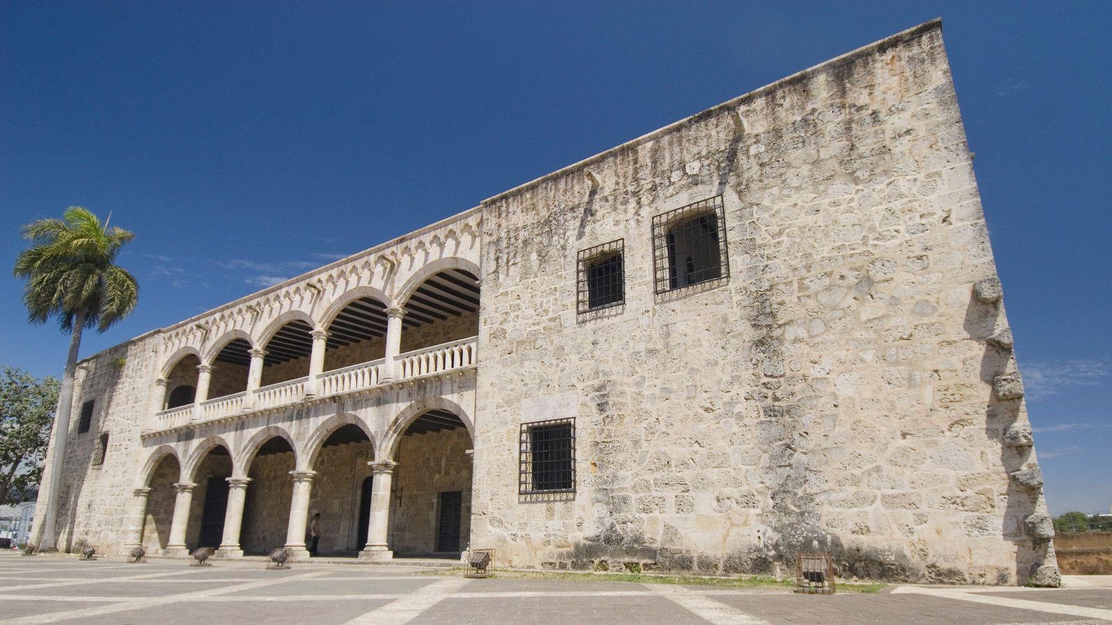 old building in Santo Domingo