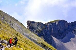 Summit the mountain of Tomorr Berat