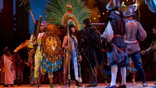 Xcaret Mexico Espectacular stage performance in Riviera Maya