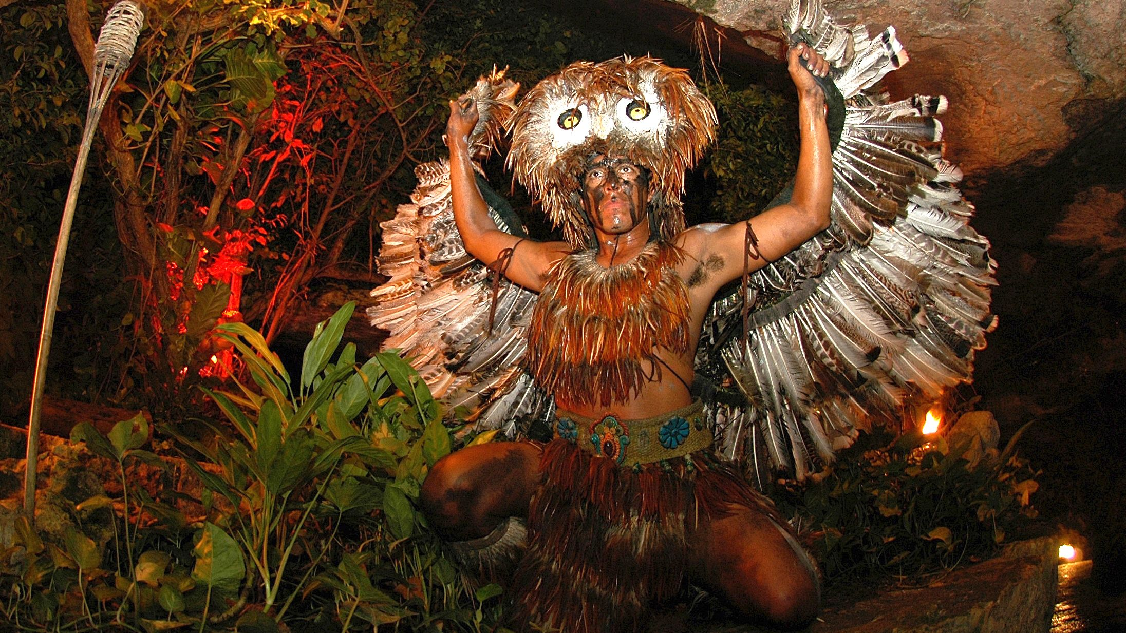 Xcaret park cancun show