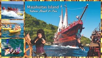 Tour por la isla de Majahuitas