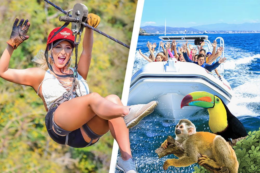 Zipline Adventure, Speed Boat Ride & River Fun - Los Veranos