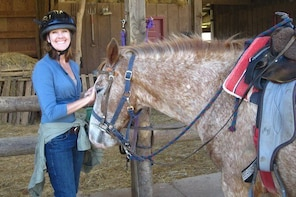 Horseback Riding on the Fern Forest Trail
