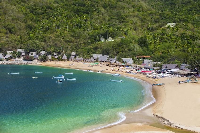 Show item 1 of 10. Yelapa & Majahuitas Catamaran Tour