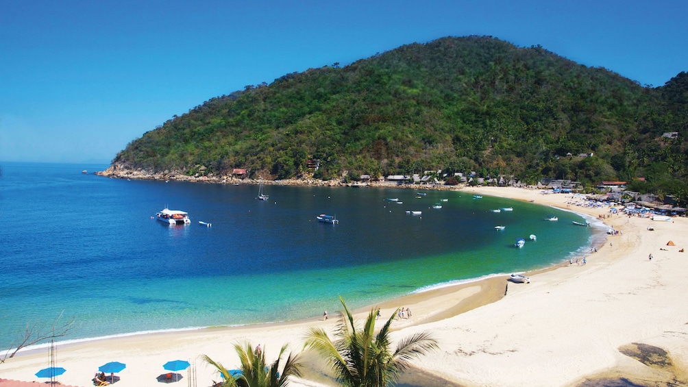 Show item 3 of 10. Peaceful and isolated cove of Majahuitas in Puerto Vallarta