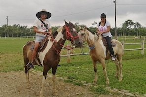 Horseback riding near Guayaquil day trip
