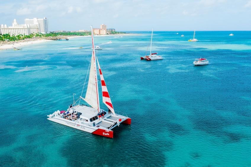 Show item 1 of 10. Antilla & Catalina Snorkel Sail