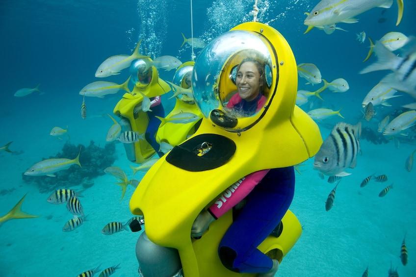 Show item 9 of 9. Scenic Underwater Bubble Bahamas Adventure